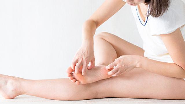 足の爪水虫の治験イメージ